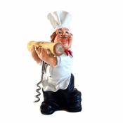 Фигурка повара со штопором