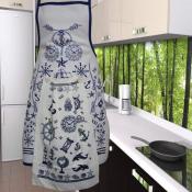 Фартук кухонный с полотенцем
