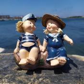 Фигурка морячка и морячки на подставке