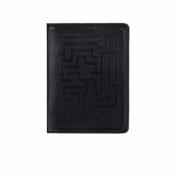 Обложка для паспорта Labyrinth черная