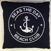 Подушка морская с якорем