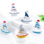 Кораблик с парусами 10см