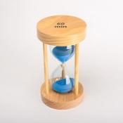 Песочные часы 60минут с синим песком