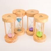 Часы песочные на 15 мин с голубым песком