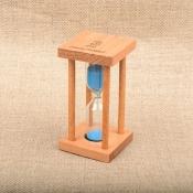 Песочные часы на 3 минуты в корпусе из дерева
