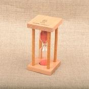 Часы песочные красные 5 минут