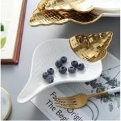 Закусочная тарелка Морская ракушка