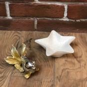 Конфетница Звезда морская белая малая