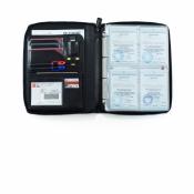 папка для морских документов zip черная