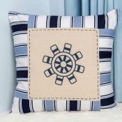 Подушка декоративная Штурвал
