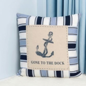 Декоративная подушка для мальчика Якорь