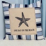 Подушка декоративная Морская звезда