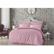 Постельный комплект евро Always розового цвета