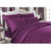 Постельное белье евро Always фиолетового цвета