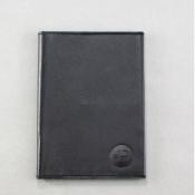 Обложка на паспорт Docker черная