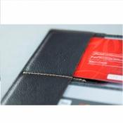 обложка на паспорт docker коричневая