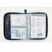 папка для морских документов pack синяя