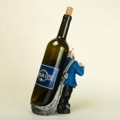 Подставка под бутылку вина Капитан в синем кителе 23см