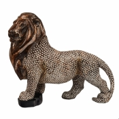 Фигурка льва декоративная 29*28см