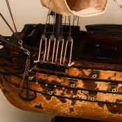 Модель парусного корабля HMS VICTORY 82см
