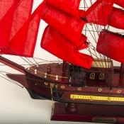 Модель парусного корабля Алые паруса 55см