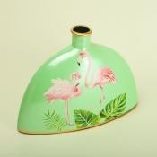 Ваза Фламинго в виде бутылки 30*22см