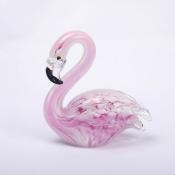 Розовый Фламинго стекло
