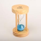 Песочные часы с синим песком 10минут круглые