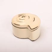 Шкатулка ракушка морская керамическая
