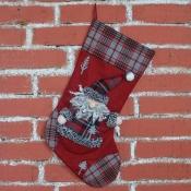 Подарочный сапожок Дед Мороз 49*28см