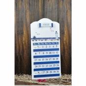 Календарь настенный деревянный