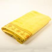 Полотенце желтое Якорь 100*160см