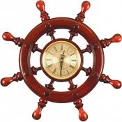 Часы настенные Штурвал 8 ручек 44см
