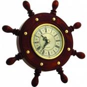 Часы настенные Штурвал 8 ручек 34см