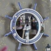 Зеркало-штурвал 47см