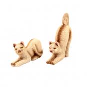 Статуэтка Пара котов