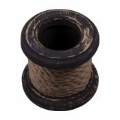 Карандашница деревянная Лебедка коричневая 11 см