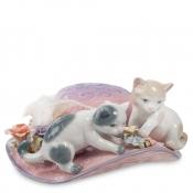 музыкальная фигурка котята (pavone)