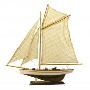 Яхта парусная 60см
