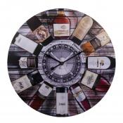 Часы настенные Винные бутылки 60см
