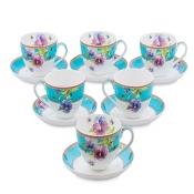 Чайный набор Виола на 6 персон (Viola Pavone)