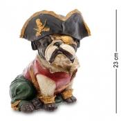 Собака пират 23см