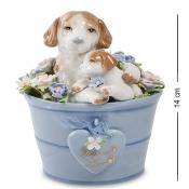 музыкальная фигурка пара собак-любовь (pavone)