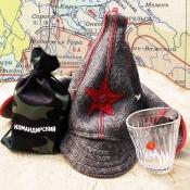 Пьяный стакан Командирский