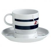 Чайные чашки с блюдцами CANNES, набор 6 шт