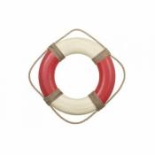 Спасательный круг декор красный 35см