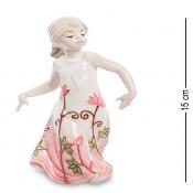 Фигурка Девочка в цветочном платье (Pavone)