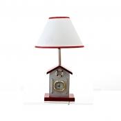 Лампа настольная Пляжный домик с часами