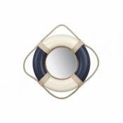 Зеркало-спасательный круг синий 45см