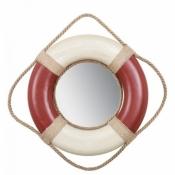 Зеркало - спасательный круг красный 35см
